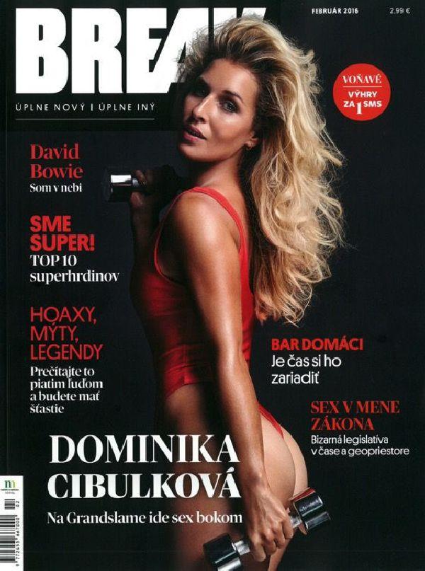dominika cibulkova break magazine sexy