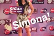 player party doha simona halep