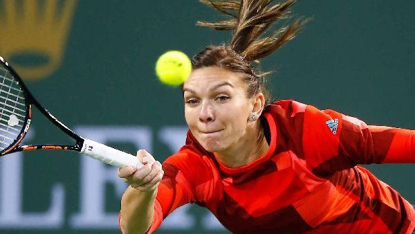 antrenament simona halep indian wells