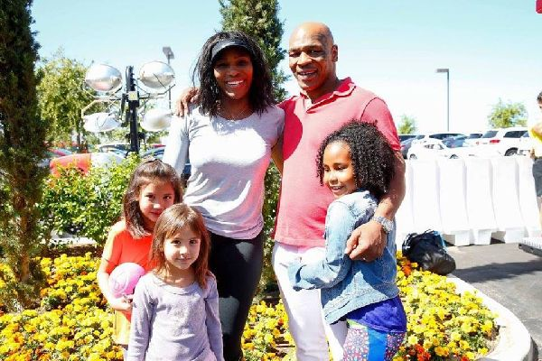 serena williams mike Tyson indian wells
