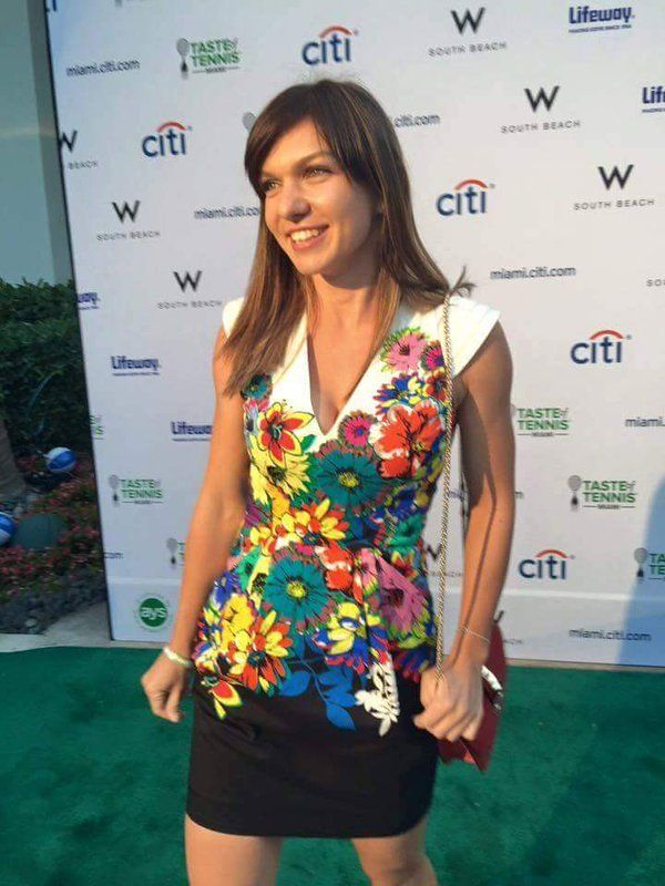 simona halep taste of tennis miami