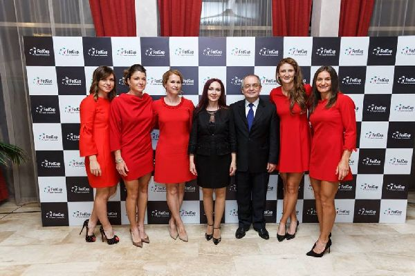 dineu oficial fed cup romania germania 12