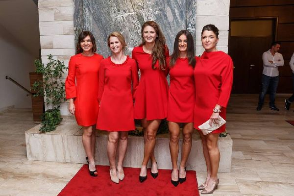 dineu oficial fed cup romania germania 14