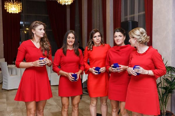dineu oficial fed cup romania germania 15