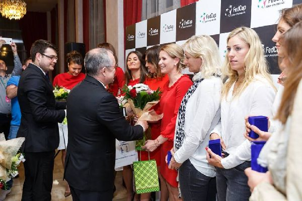 dineu oficial fed cup romania germania 5