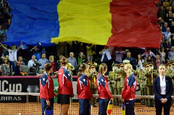 fed cup romania fani tenis