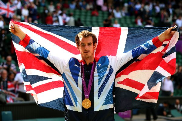 andy murray campion olimpic londra
