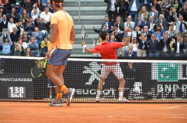 djokovic nadal roma tenis 1