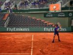 POZA ZILEI, 18 mai 2016: Roger Federer a făcut primul antrenament la Roland Garros