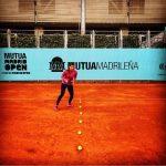 WTA Madrid: Sorana Cîrstea, la antrenament (FOTO)