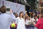 FOTOGALERIE: Imagini cu Simona Halep pe covorul mov de la Wimbledon WTA Party 2016