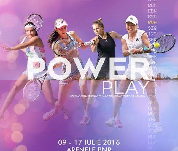 afis turneu BRD Bucharest Open
