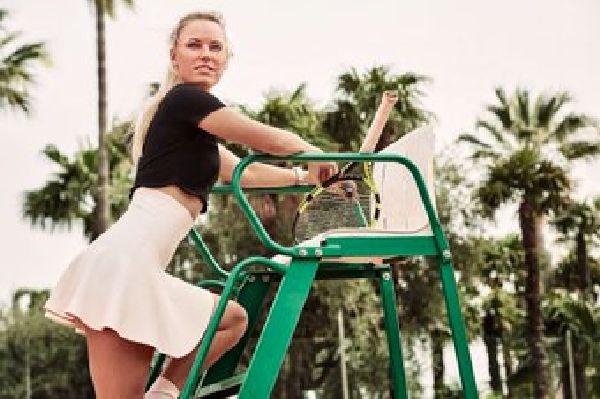 Caroline Wozniacki in Esquire