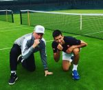 POZA ZILEI, 21 iunie 2016: Novak Djokovic și Boris Becker au gustat iarba la Wimbledon