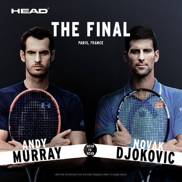 Andy Murray novak djokovic finala