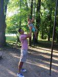 POZA ZILEI, 18 iunie 2016: Victor Hănescu, în parc cu fiul său, Andrei