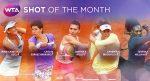 VIDEO: Irina Begu și Simona Halep pot fi votate la lovitura lunii mai în WTA