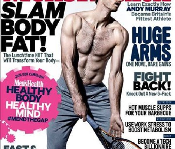 andy murray mens health