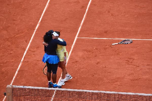 serena williams garbine muguruza respect
