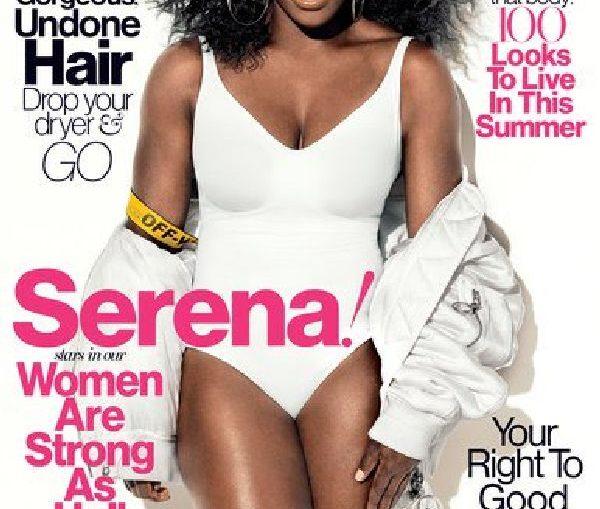 serena williams glamour mag