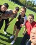 FOTO: Simona Halep și Darren Cahill se antrenează din nou împreună la Wimbledon