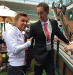 """Wimbledon – Simona Halep după victorie: """"Ce îmi spune Darren să fac, fac fără să pun întrebări"""""""