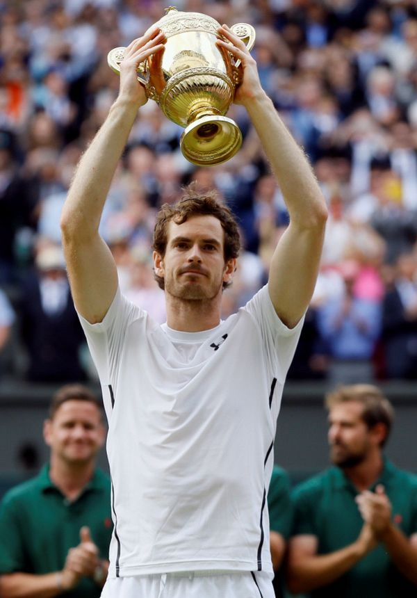 andy murray trofeu wimbledon