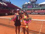 WTA Bastad: Andreea Mitu e CAMPIOANĂ la dublu