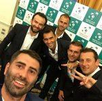 Cupa Davis: Echipa României la dineul oficial (FOTO)
