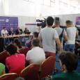 Simona Halep a fost prezentă azi la tragerea la sorți a meciurilor de pe tabloul principal al BRD Bucharest Open. AICI puteți vedea cu cine au căzut cele șase românce...