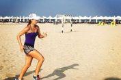 sorana cirstea antrenament plaja