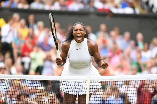 Serena Williams dupa victorie