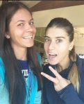 FOTO: Andreea Mitu și Sorana Cîrstea la US Open