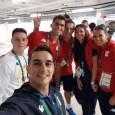 """Horia Tecău, Andrei Pavel şi Florin Mergea, alături de soţia sa, Diana, au ajuns la Rio de Janeiro. google_ad_client = """"ca-pub-7560018776823147""""; google_ad_slot = """"1979030713""""; google_ad_width = 468; google_ad_height = 60;..."""