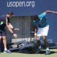 Francezul Gael Monfils a avut parte de o spaimă teribilă în meciul câştigat ieri la US Open. Gael Monfils l-a învins ieri, în primul tur al US Open, cu scorul...