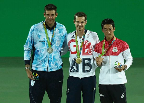 murray potro nishikori jocurile olimpice