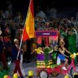 """Festivitatea de deschidere a Jocurilor Olimpice a avut trei purtători de drapel proveniți din rândul tenismenilor. Toți trei, nume importante în tenis. google_ad_client = """"ca-pub-7560018776823147""""; google_ad_slot = """"5055644147""""; google_ad_width =..."""