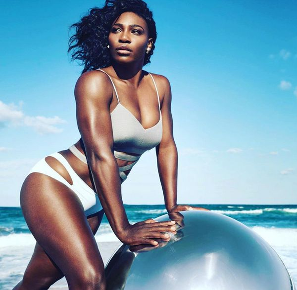 serena williams costum baie self magazine