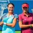 Monica Niculescu și Sania Mirza au cucerit azi titlul de dublu la New Haven. În această seară, Monica Niculescu și liderul clasamentului mondial de dublu, Sania Mirza, au câștigat primul...