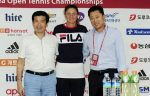 FOTO: Imagini cu Irina Begu la tragerea la sorţi a meciurilor de la Seul