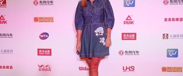 Simona Halep a ajuns de câteva zile la Wuhan, în China, așa că a putut participa fără probleme la petrecerea jucătoarelor. Ținută în seara zilei de sâmbătă, petrecerea jucătoarelor le-a...
