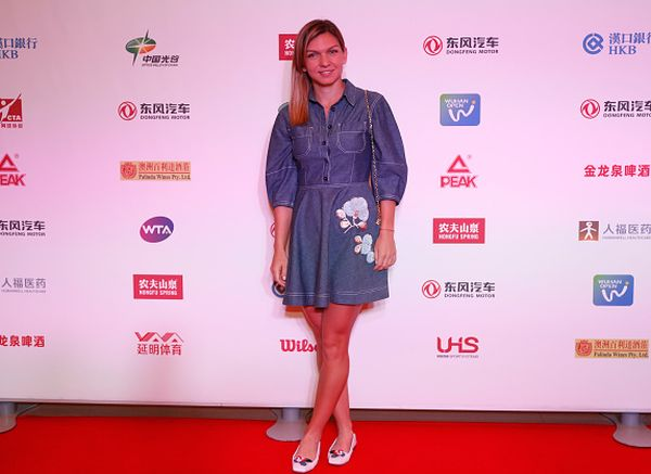 simona halep players party wuhan