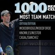 Gemenii americani Mike și Bob Bryan au mai scris o pagină de istorie în tenisul masculin: au devenit prima pereche care a câștigat 1.000 de meciuri în circuitul ATP! Începută...