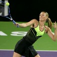 Rusoaica Maria Sharapova şi-a făcut prima apariţie pe un teren de tenis de la suspendarea ei din activitate. Cum soarta Mariei e deja decisă, ştiindu-se că va reveni pe teren...