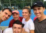 POZA ZILEI, 2 octombrie 2016: Simona Halep are acum echipa completă. Darren Cahill a ajuns la Beijing