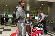 simona halep aeroport singapore