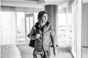 Simona Halep Z.N.E travel hootie adidas