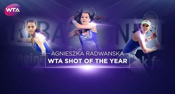 Agnieszka radwanska lovitura anului
