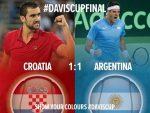 Cupa Davis – finala: Egalitate după prima zi. Sâmbătă are loc meciul de dublu