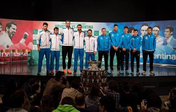 cupa davis finala croatia argentina